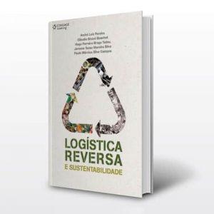 Capa do livro logística reversa e sustentabilidade