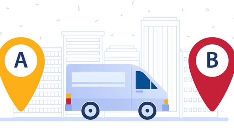 canais de distribuição logística