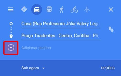 como fazer uma rota de entrega Google Maps
