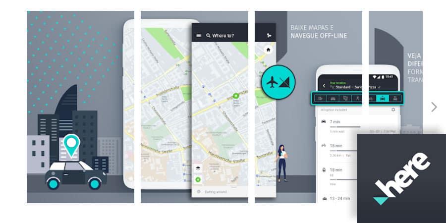 melhores aplicativos mapas