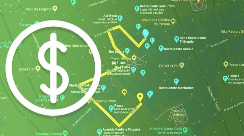 preço API Google Maps