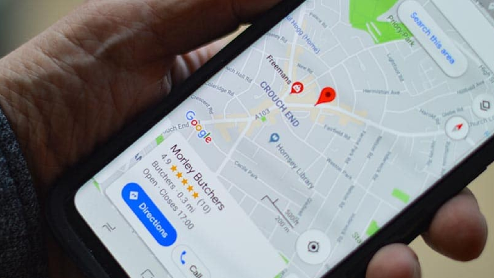 vantagens do google maps para empresas