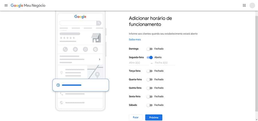 adicionar empresa no Google Maps