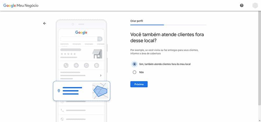 adicionar empresa no Google meu Negócio