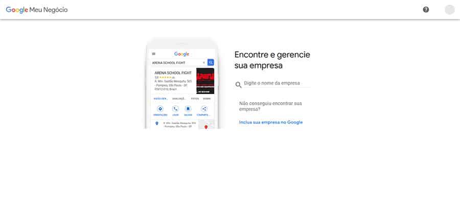 como fazer minha empresa aparecer no Google