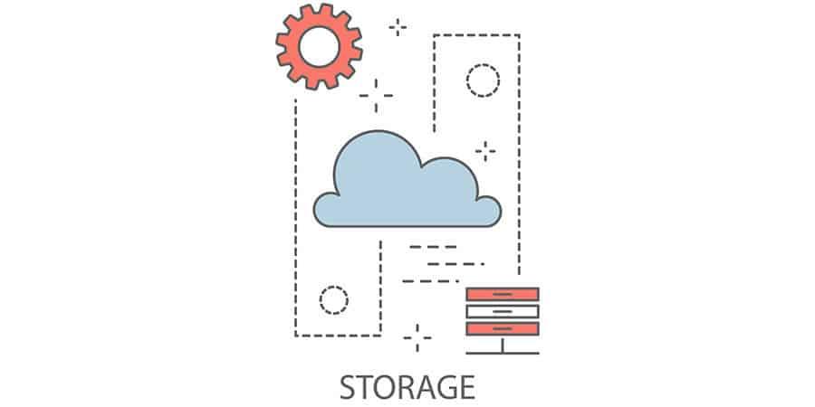 o que é armazenamento virtual